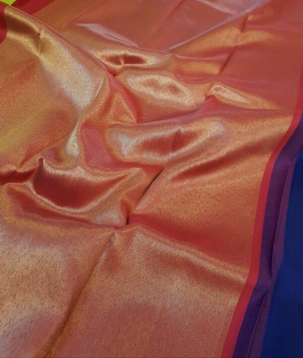 navy blue kanchi silk saree with bavanji pallu1