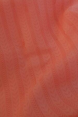 peach shadow work saree2