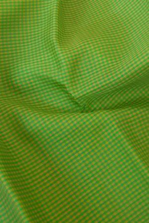 pink and green half and half kanchipuram silk saree