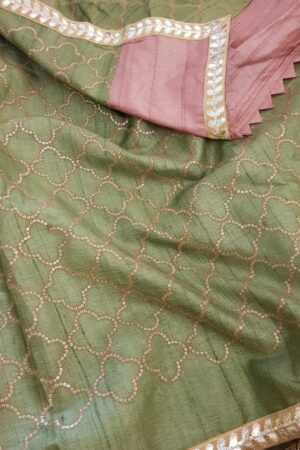 pink with green pallu1