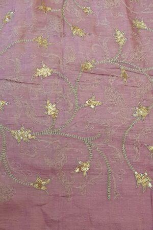 purple and beige shadow work saree4