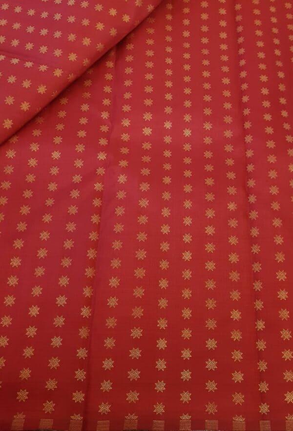 red star butta fabric