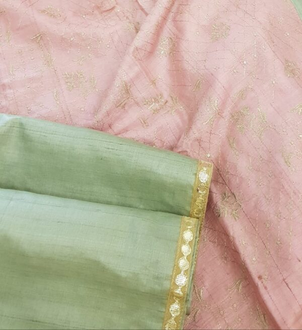 russian green with pink pallu2