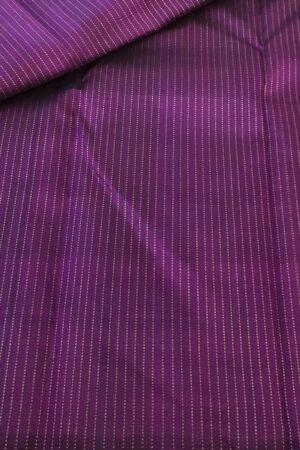 violet zari lines fabric