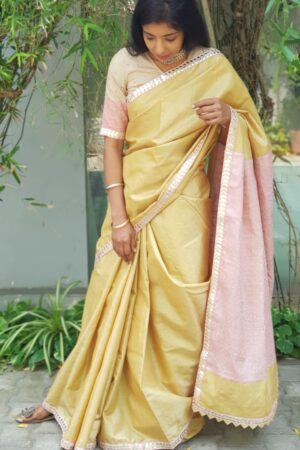 yellow with pink pallu4