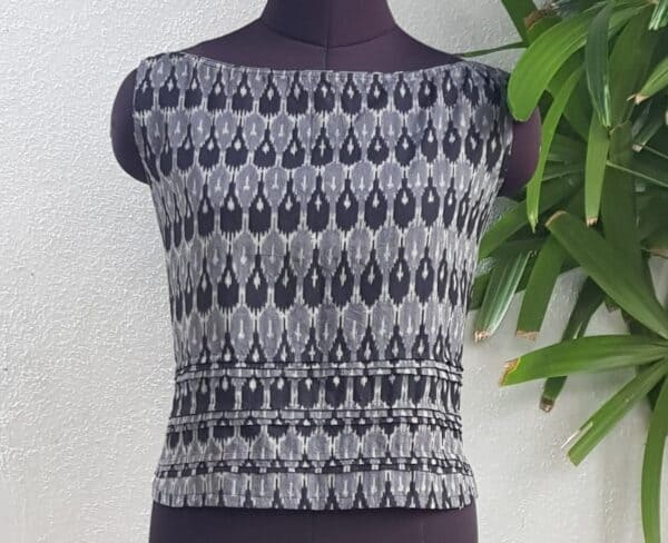 black and grey ikat1