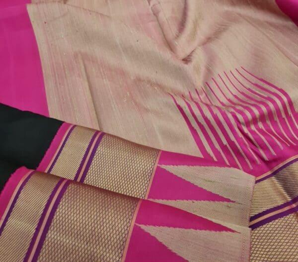 black with pink thread border2
