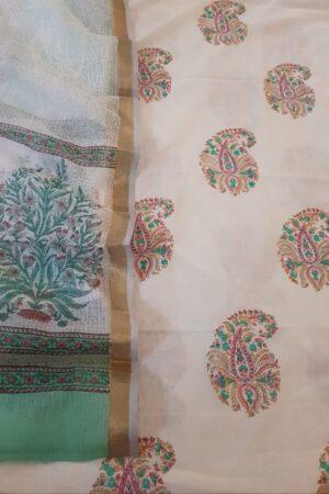 cotton with kota dupatta