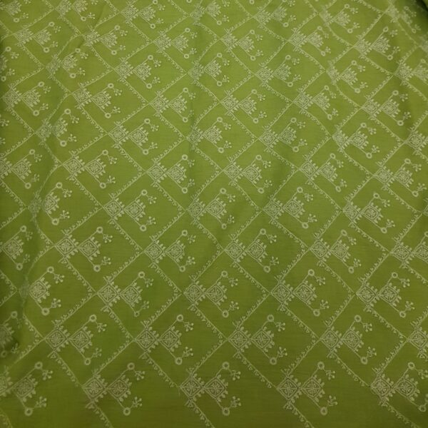 green tussar cutwork3