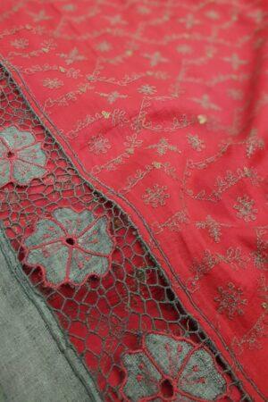 grey with pink pallu2
