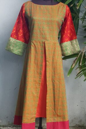 ikat kanchi cotton kurta1