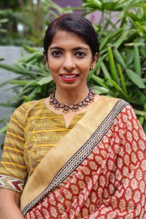 mustard cotton blouse