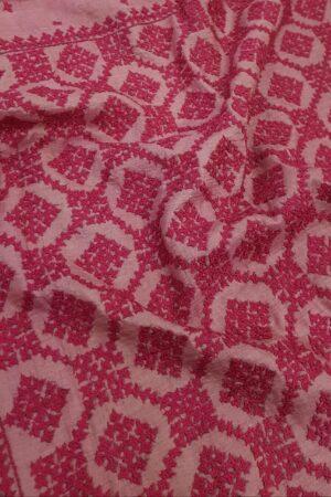 pink box kutch work saree5