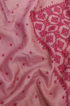 pink box kutch work saree6
