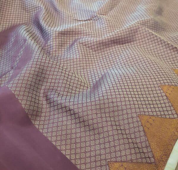 purple organza with kutch work ang silk border2