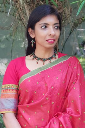 red kanchi cotton1