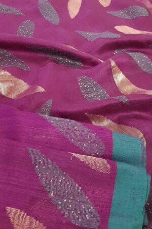 violet matka saree2