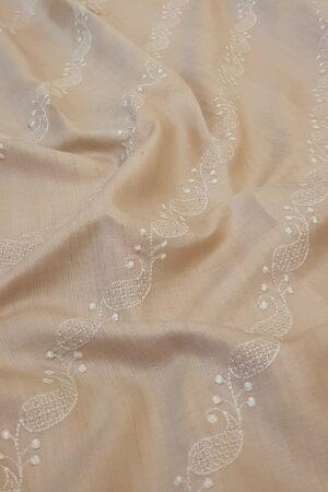 natural desi embroidered tussar saree3