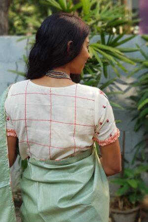 off white cotton blouse1