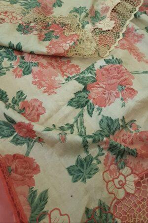 pink organza saree with cutwork and tussar pallu2