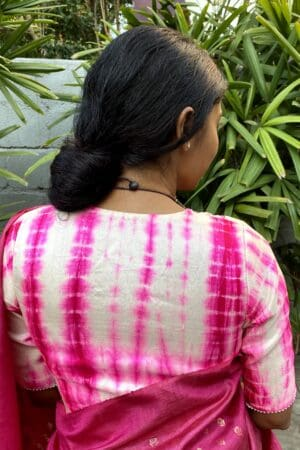 rani pink tie n dye blouse1