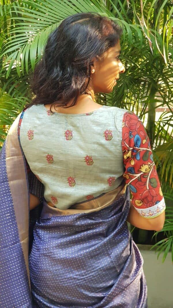 grey and maroon prakruthi1