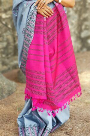 grey bp kanchipuram silk saree1