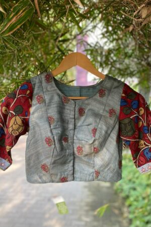 grey prakruthi blouse