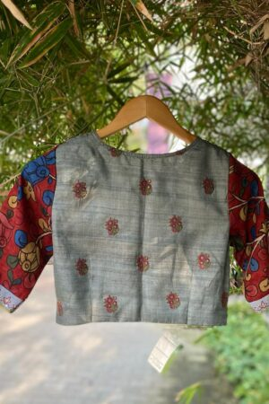grey prakruthi blouse1