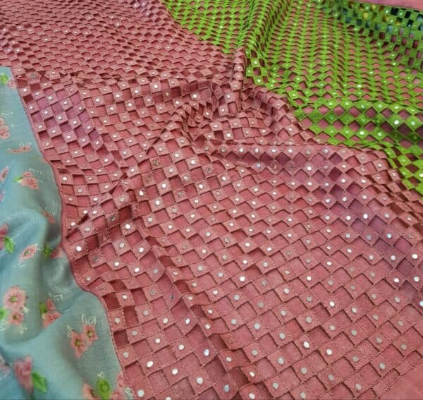 grey with pink pallu cutwork1