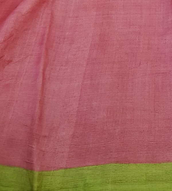 grey with pink pallu cutwork5