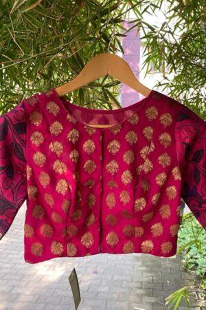 pink prakruthi blouse