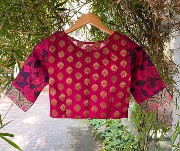 pink prakruthi blouse1