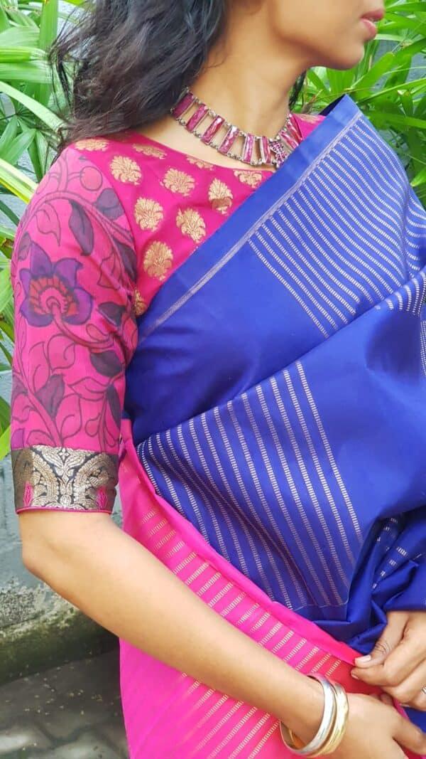 pink prakruthi blouse2