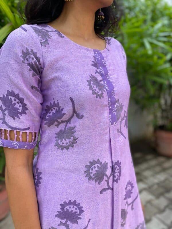 purple chanderi kurta2