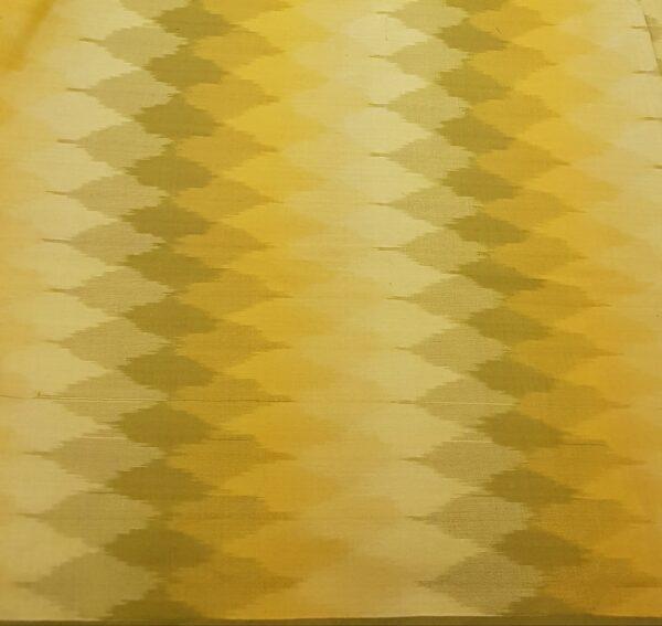 kota saree with block printa nd silk border 3