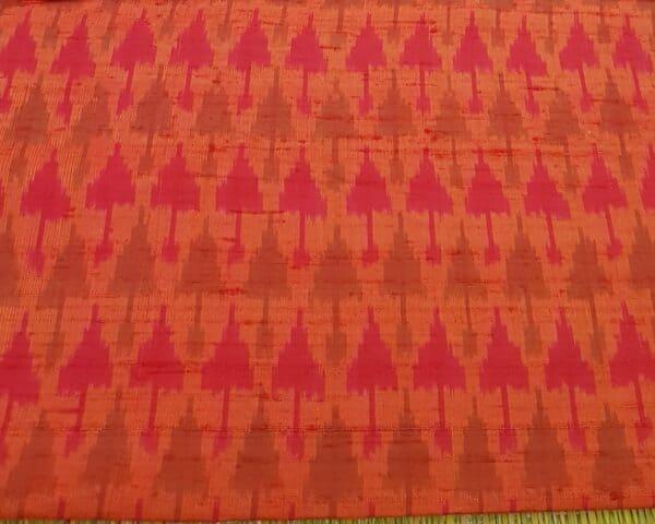 kota saree with block printa nd silk border 1