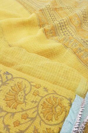 yellow raahat kota saree1