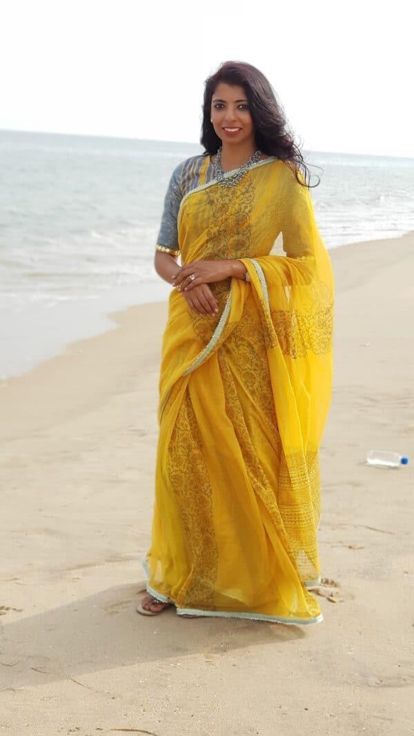 yellow raahat kota saree6
