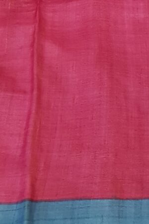 beige with pink and blue cutwork pallu3
