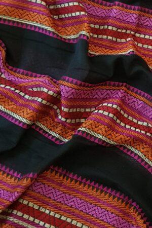 black phulia cotton saree1