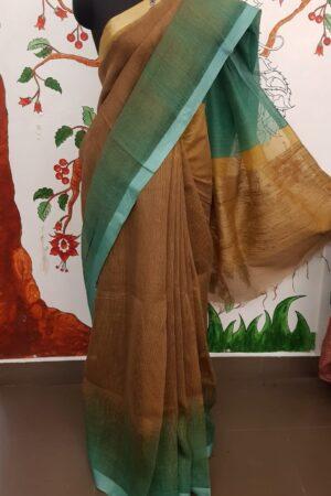 brown shaded moonga linen4
