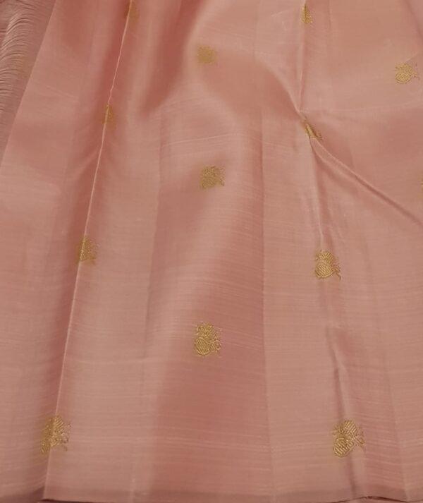 dusty pink shoulder saree3