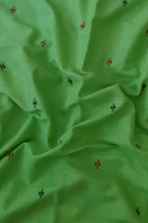 green cotton saree2