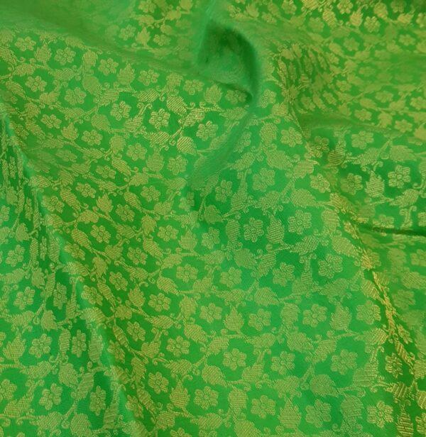 green korvai ganga jamuna saree1