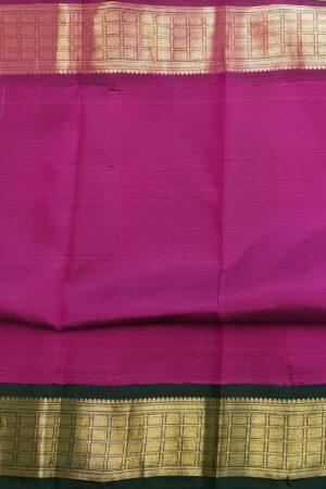 green korvai ganga jamuna saree3
