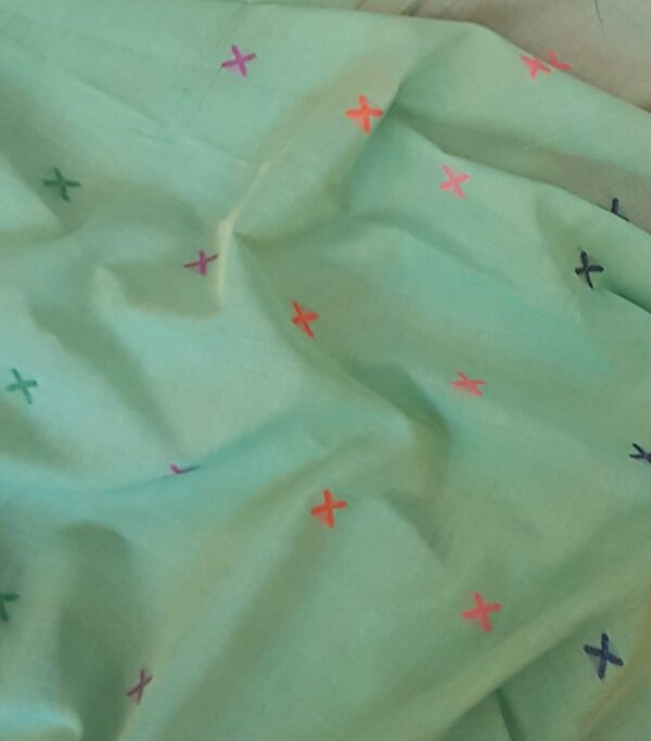 green phulia saree2