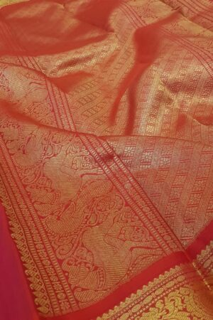 green with red korvai kanchipuram silk saree3