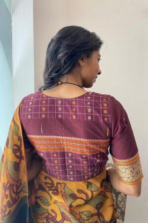maroon kanchi cotton blouse11