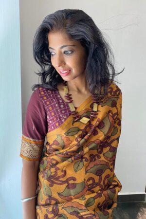 maroon kanchi cotton blouse12